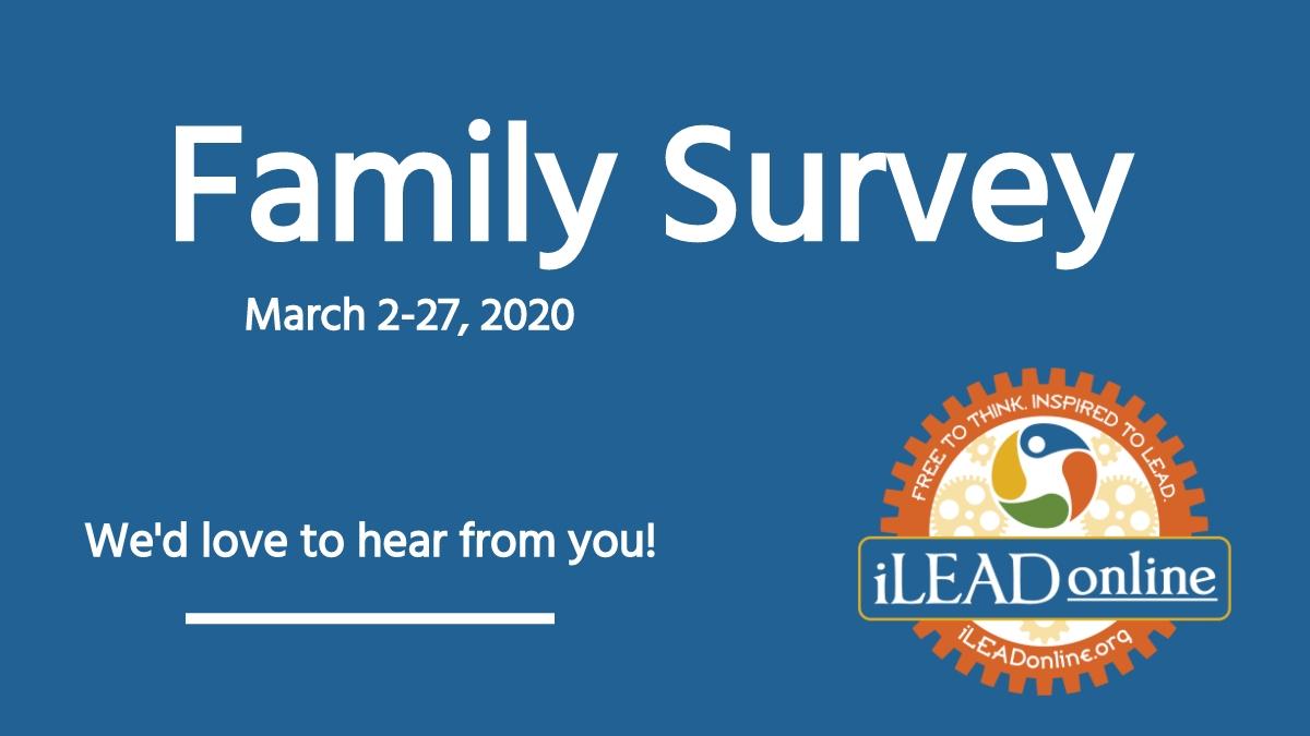 iLEAD Online Family Survey