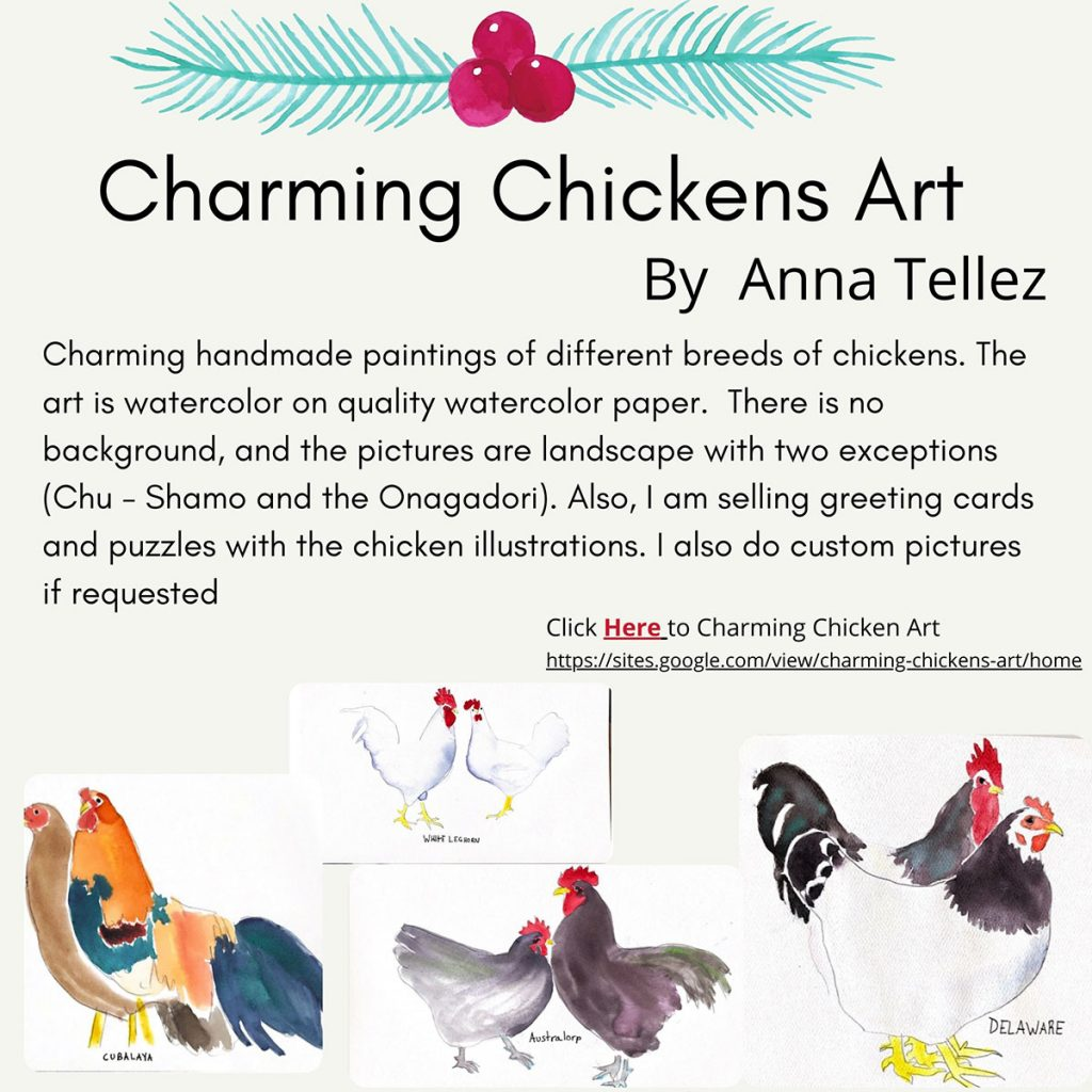 iLEAD Online Holiday Charming Chickens