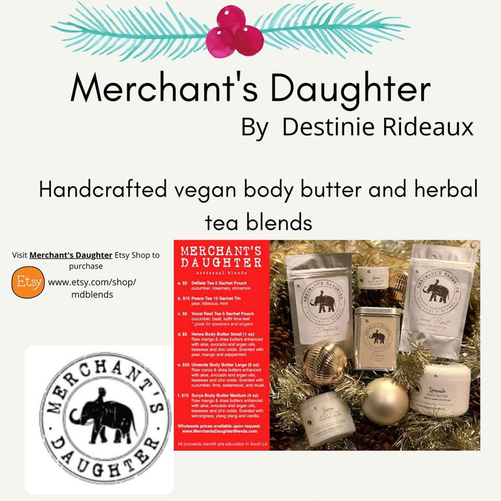 iLEAD Online Holiday Merchant's Daughter